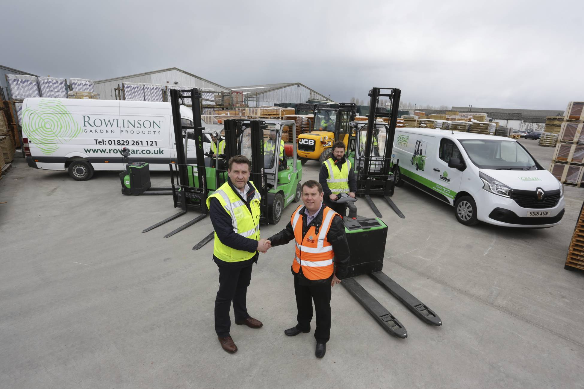 Global Signs Biggest Ever Deal with Rowlinson