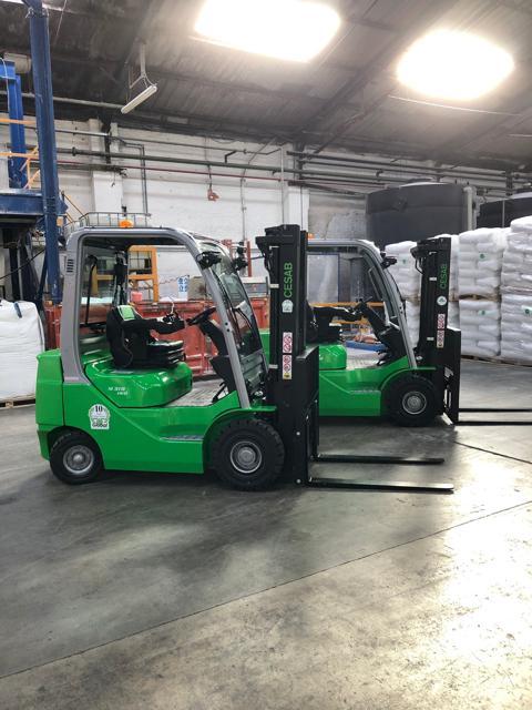 Novidon Ltd Diesel Forklift Delivery