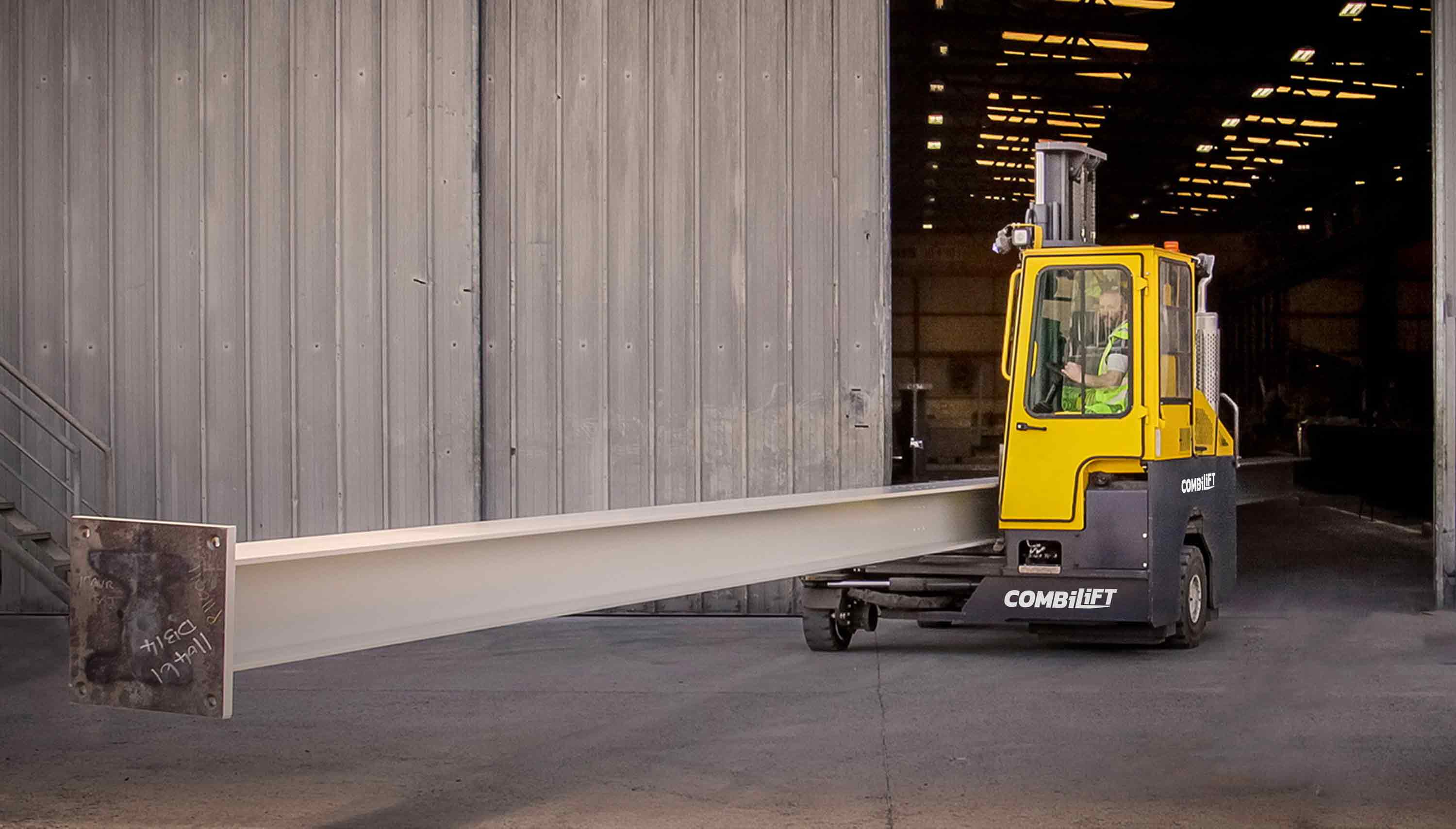 Safer Long Load Handling With Combilift Working Indoor & Outdoor